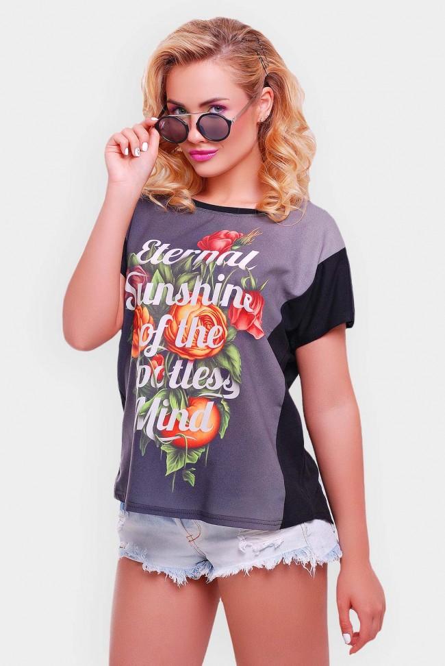 """Красивая летняя футболка оптом - """"Air"""" FB-1346I1"""