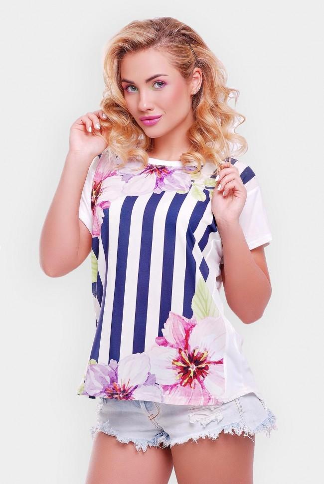 """Красивая футболка для женского гардероба - """"Air"""" FB-1140Z"""