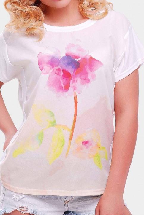"Женская футболка с коротким рукавом - ""Air"" FB-1140W (фото 2)"