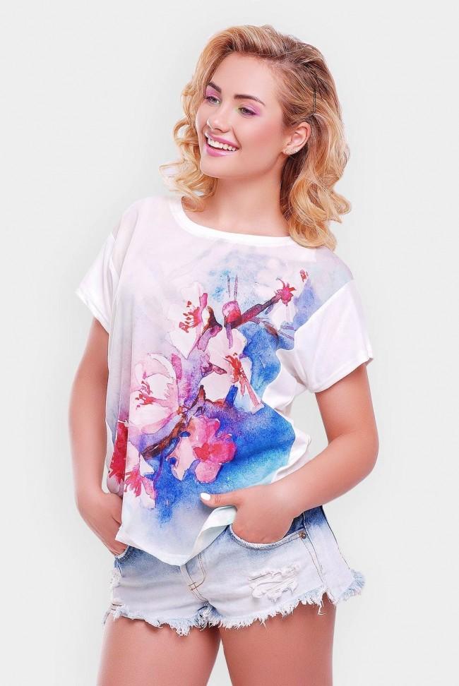 "Красивая летняя футболка - ""Air"" FB-1140V"
