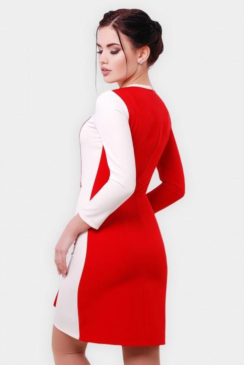 """Двухцветное платье  """"Aster""""PL-1551C (фото 2)"""