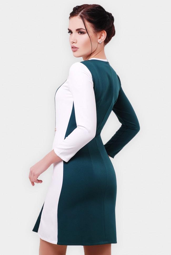 """Двухцветное платье """"Aster"""" PL-1551B"""