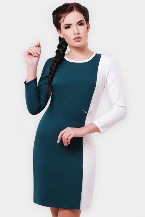 """Двухцветное платье """"Aster"""" PL-1551B (фото 2)"""