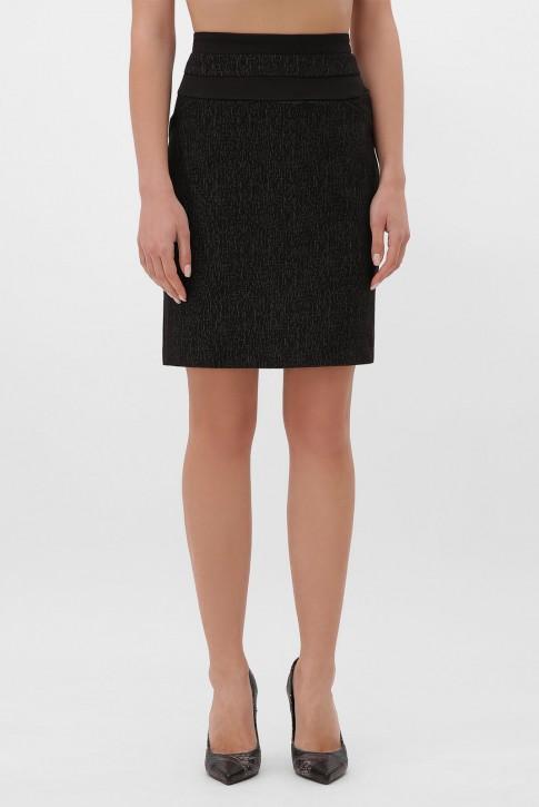 Трикотажная юбка-карандаш YB-1506A
