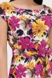Летний сарафан с цветочным принтом, PL-1340W (Сарафаны, #12609)