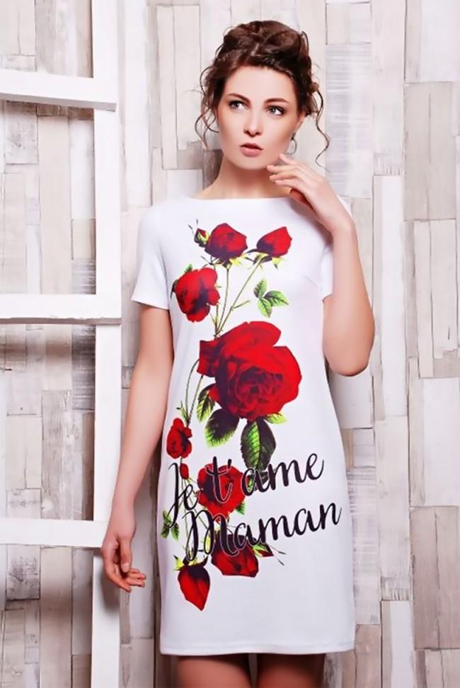 """Платье """"Roses"""" PL-1070f"""
