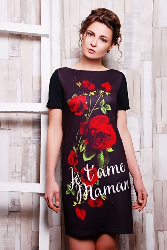 """Платье """"Roses"""" PL-1070f1"""