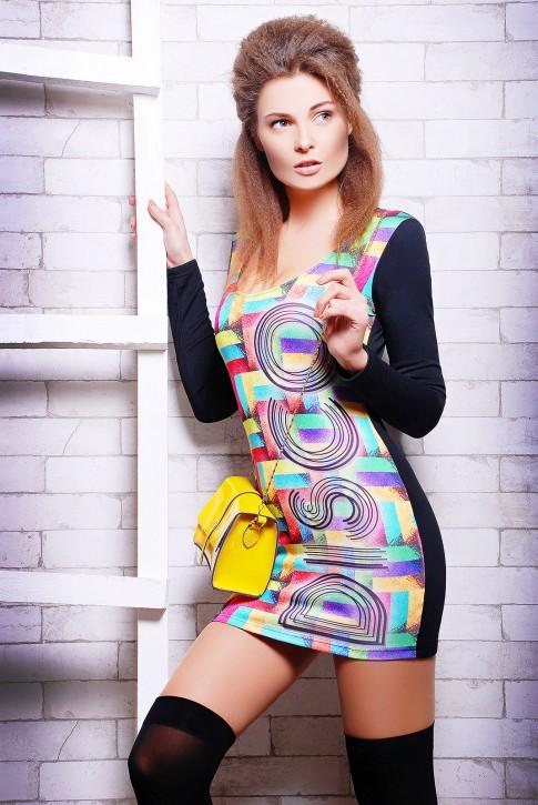 """Платье """"Disco"""" PL-1056B"""