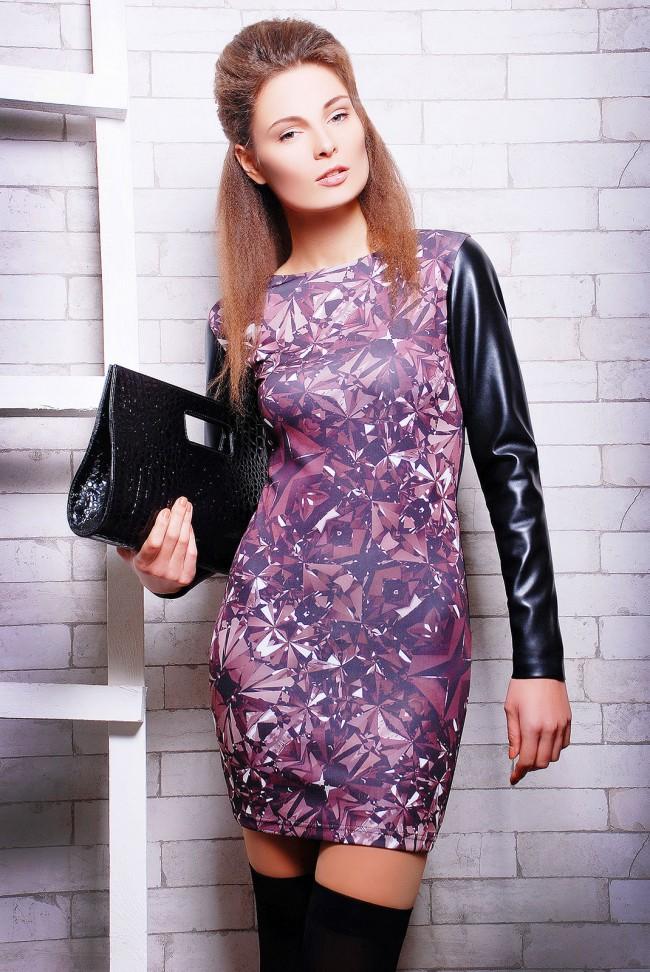 """Платье """"Glossy"""" PL-1055"""