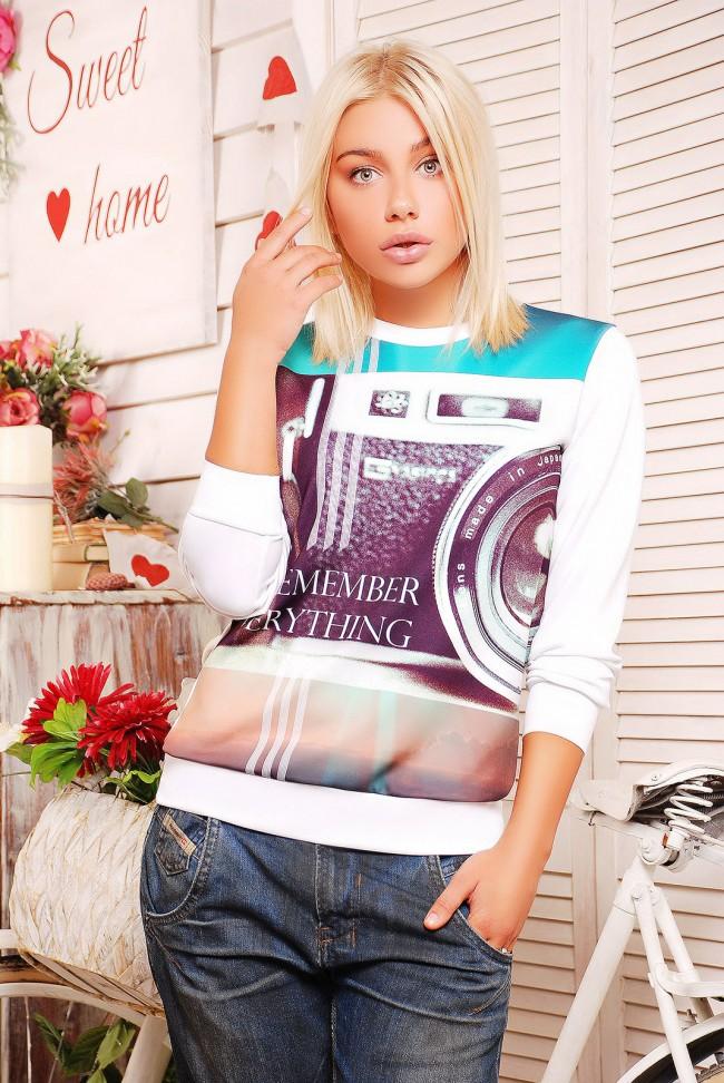 "Кофта ""Sweatshirt"" KF-1186D"