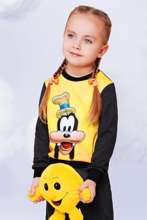 "Детский свитшот гуфи - ""Kids"" KF-070"