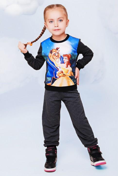 """Детский костюм с принтом """"Красавица и чудовище"""" - """"Kids"""" KS-005"""