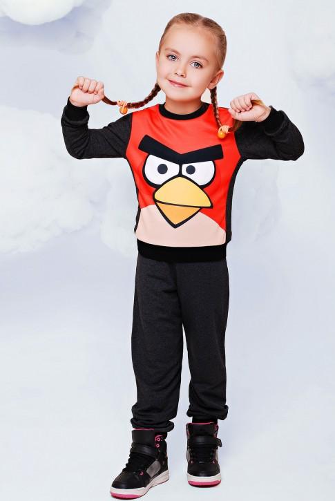"""Детский спортивный костюм """"Angry birds"""" - """"Kids"""" KS-006"""
