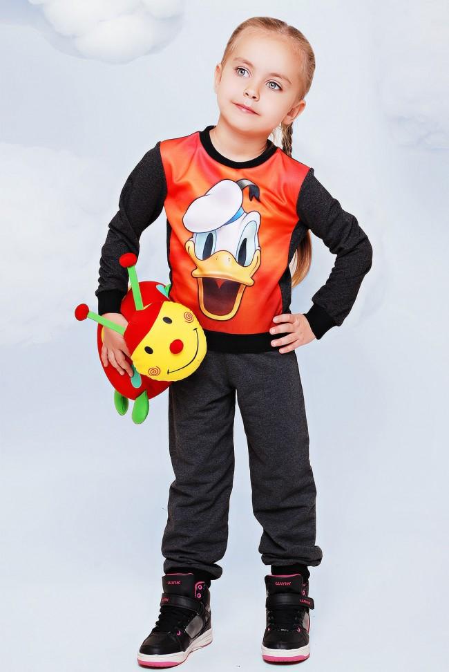 """Детский костюм, Donald принт - """"Kids"""" KS-009"""