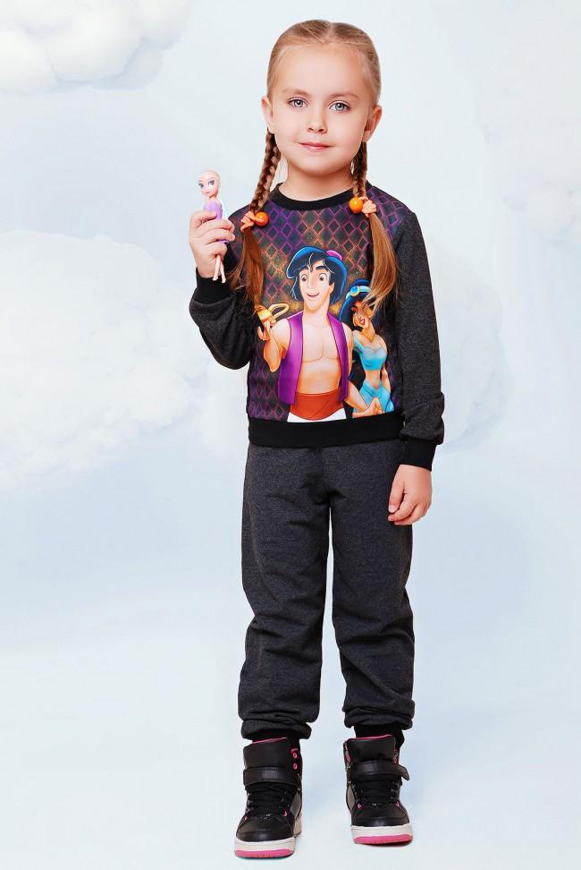 """Детский спортивный костюм принт алладин - """"Kids"""" KS-012"""