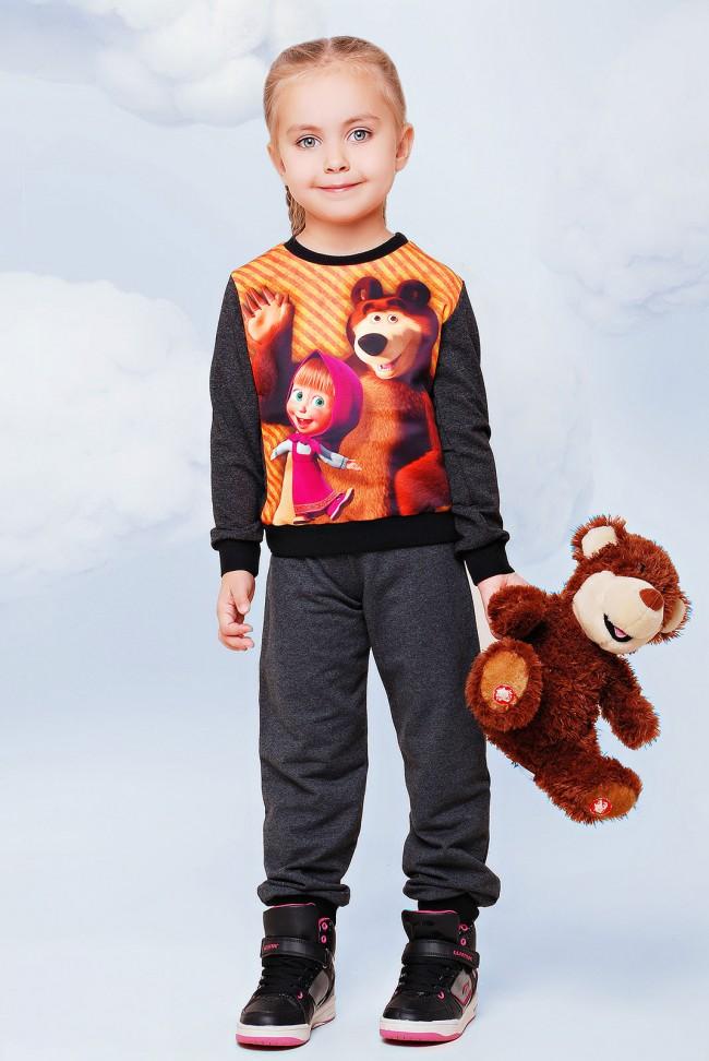 """Детский спортивный костюм, Маша и медведь - """"Kids"""" KS-015"""