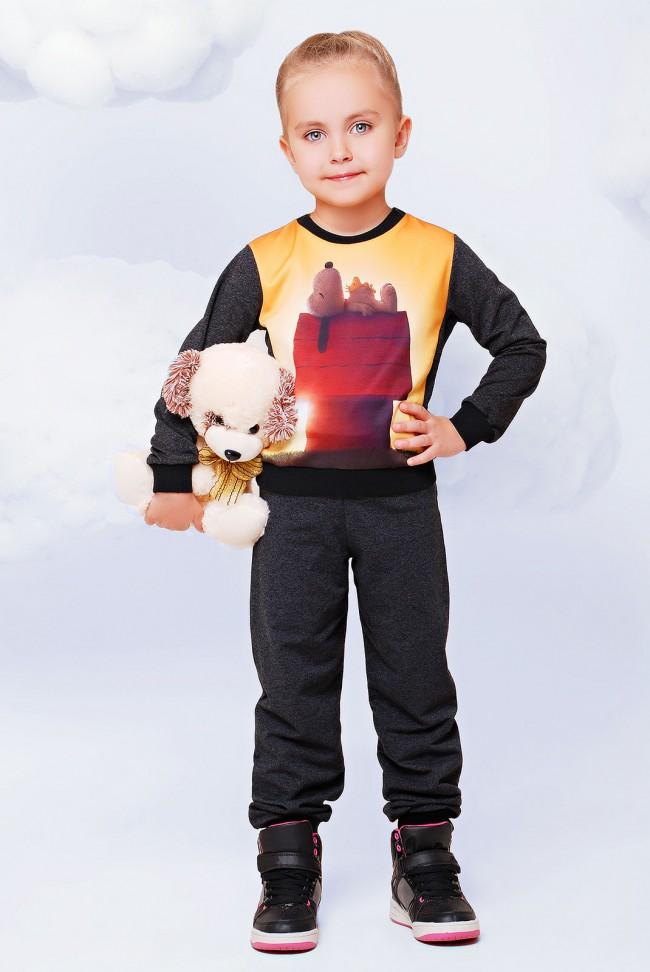 """Костюм детский, Snoopy принт - """"Kids"""" KS-022"""