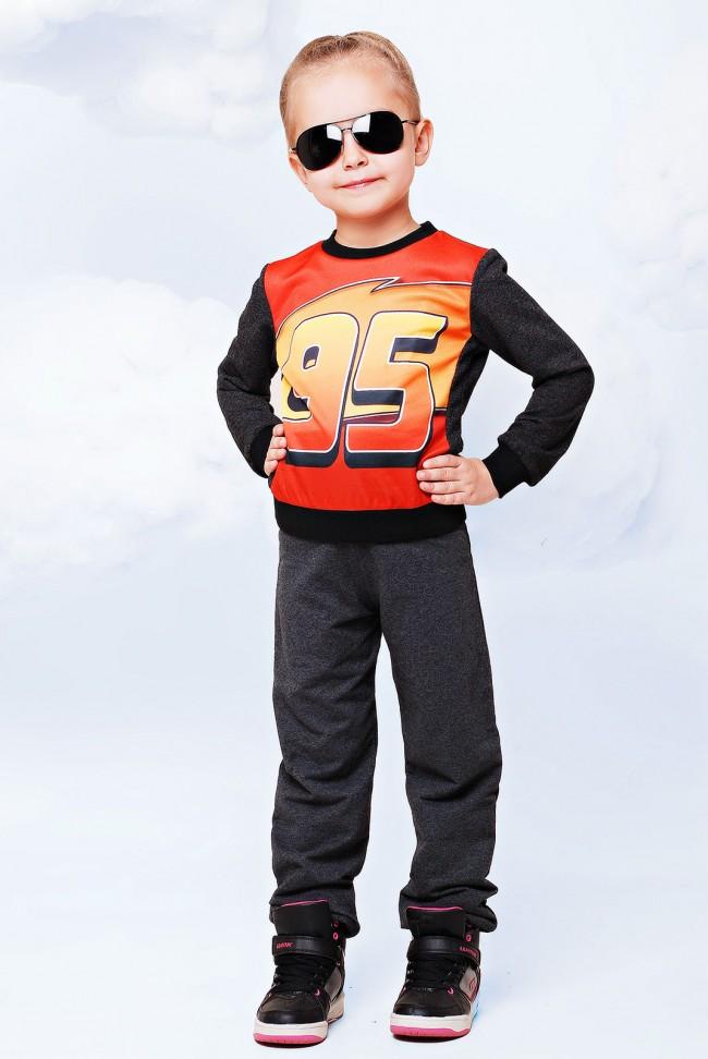 "Детский костюм, Тачки принт - ""Kids"" KS-026"