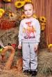 """Детский костюм """"Kids"""", Bambi цветочки принт - KS-037 (Детские костюмы, #3229)"""