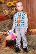 """Костюм детский с рисунком Garfield - """"Kids"""" KS-046 (Детские костюмы, #3256)"""