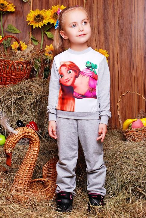 """Детский костюмы с принцессой Рапунцель """"Kids"""" KS-048"""