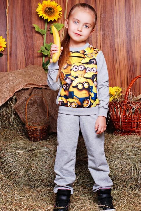 """Модный детский костюм с Миньонами - """"Kids"""" KS-050"""
