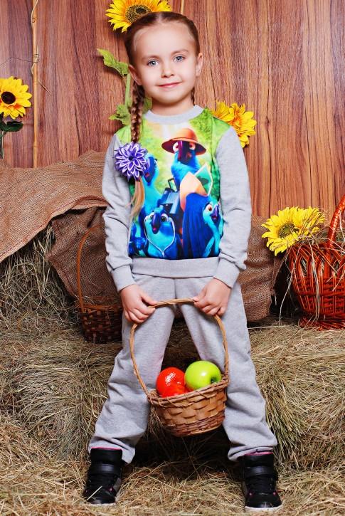 """Модный детский костюм с попугаем Рио - """"Kids"""" KS-051"""
