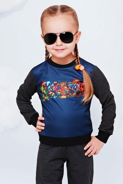 """Детская кофточка-свитшот MARVEL - """"Kids"""" KF-076"""