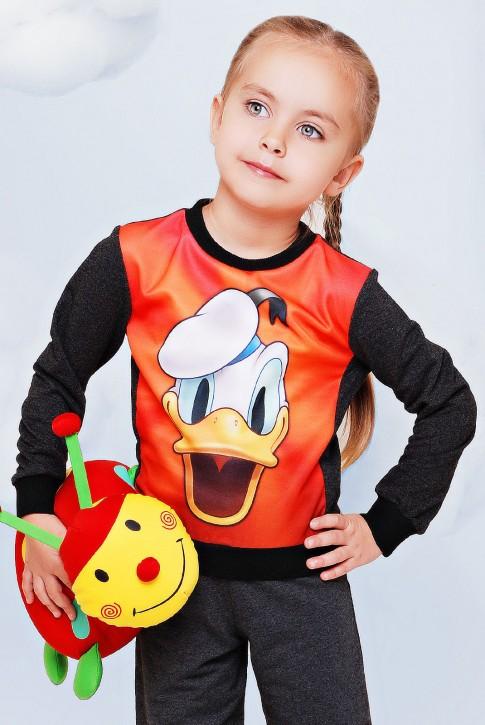 "Детский свитшот Donald оптом - ""Kids"" KF-077"