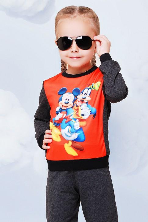 """Детский свитшот - """"Kids"""" KF-081, кофта с принтом Disney"""