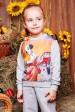 """Свитшот """"Kids"""" KF-108, 101 долматинец принт,светло-серый (Детские свитшоты, #3430)"""