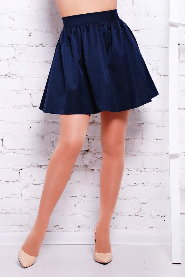 """Красивая синяя юбка - """"Jein"""" YB-1310E"""