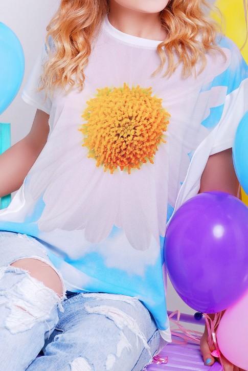 "Красивая солнечная футболка - ""Air"" FB-1140R (фото 2)"