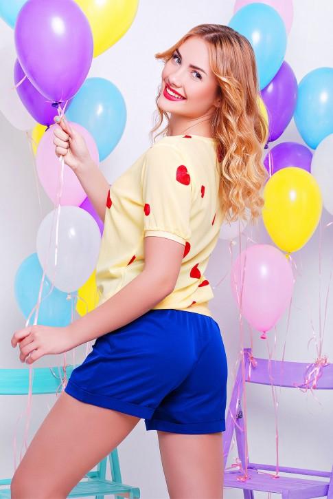 """Красивая и модная блуза - """"Comfort"""" BZ-1328B (фото 2)"""