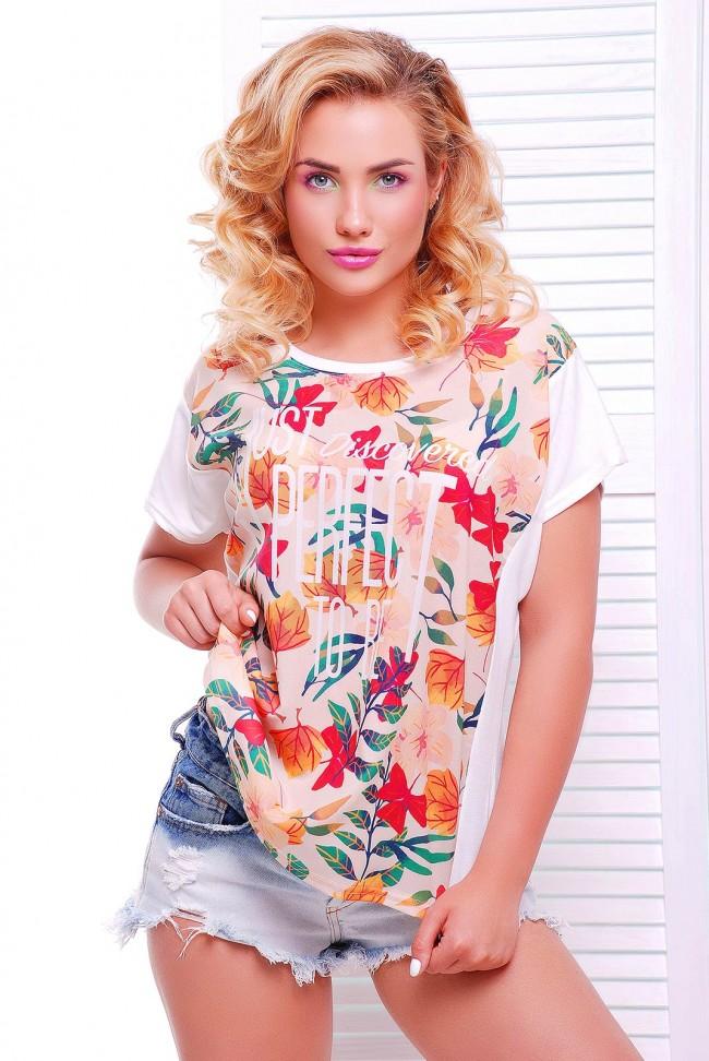 """Летняя футболка с коротким рукавом - """"Air"""" FB-1346B"""