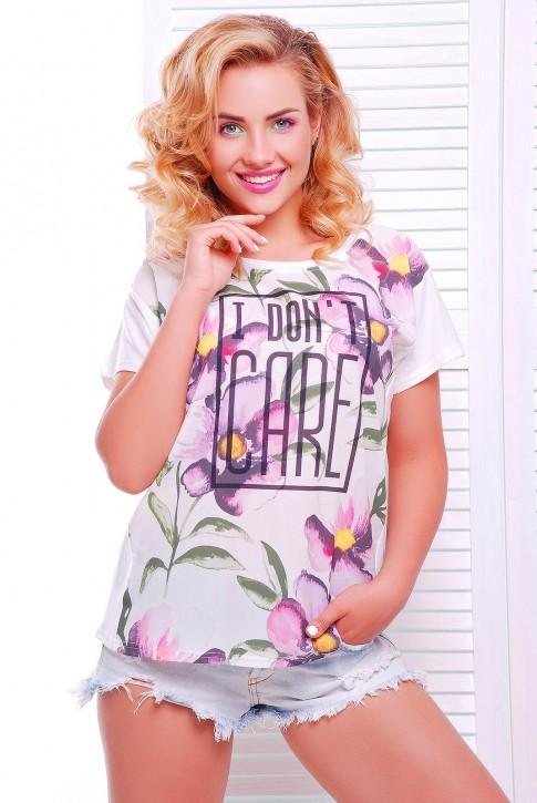 """Женская футболка с надписью - """"Air"""" FB-1346C"""