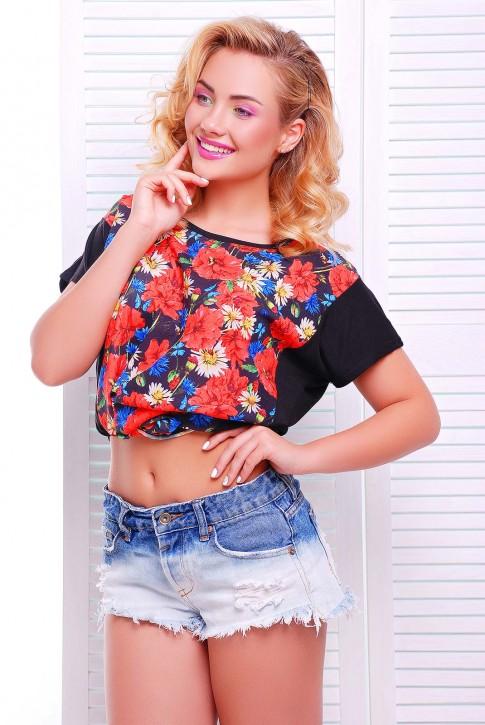 Модная женская футболка от Niko-Opt - FB-1346H1