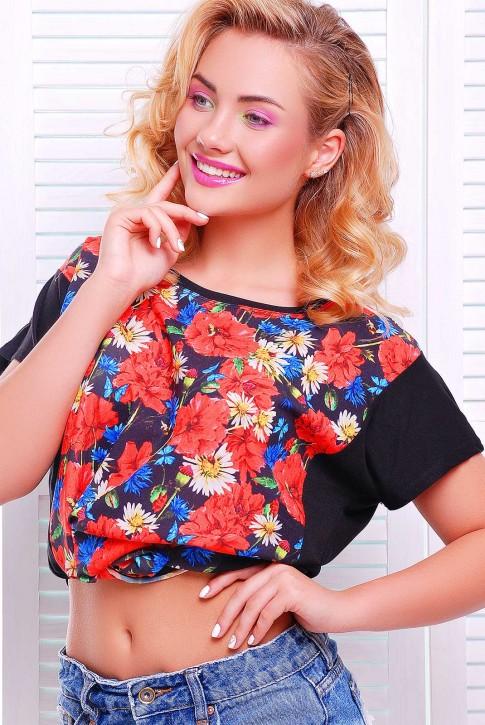 Модная женская футболка от Niko-Opt - FB-1346H1 (фото 2)