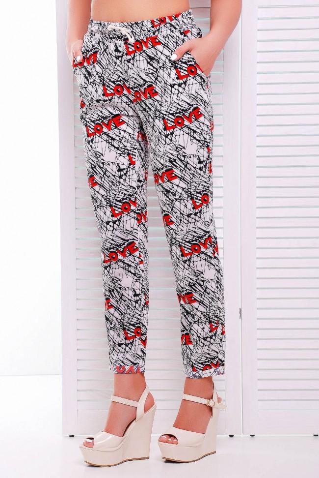 """Модные женские штаны от Нико-Опт - """"Fun"""" SHT-1338A"""