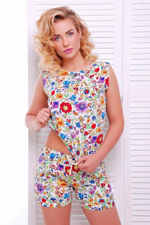"""Легкий цветочный костюм """"Mild"""" KS-1345C"""