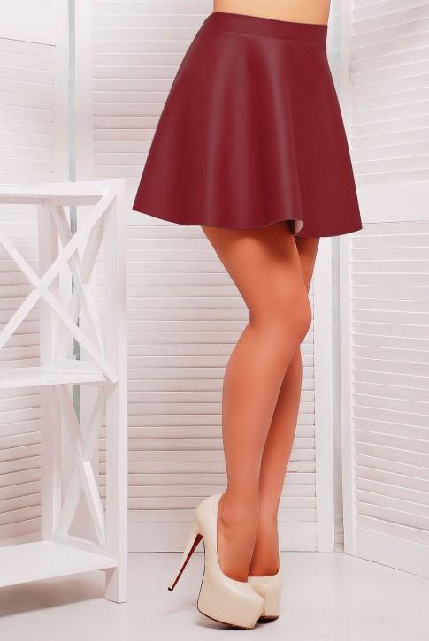 """Модная юбка цвета марсал - """"Fatale"""" YB-1002D"""