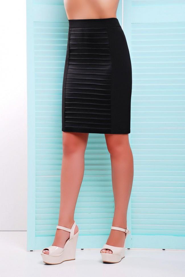 Стильная женская юбка карандаш  YB-1349A