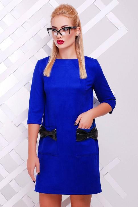 """Платье """"Кожаный Бант"""" PL-1351C"""