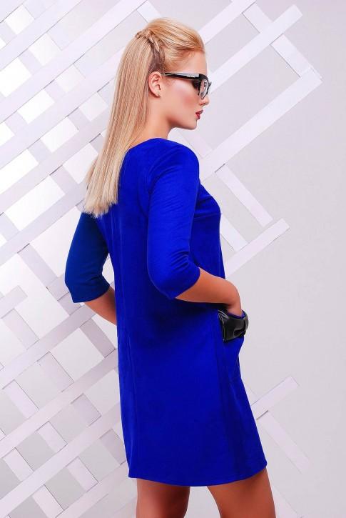 """Платье """"Кожаный Бант"""" PL-1351C (фото 2)"""