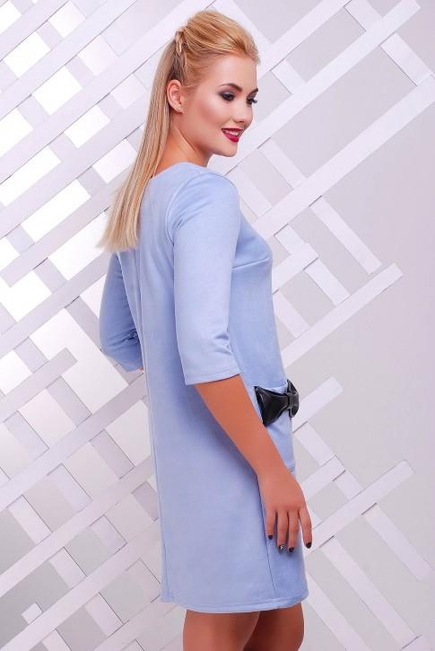 """Платье """"Кожаный Бант"""" PL-1351G (фото 2)"""