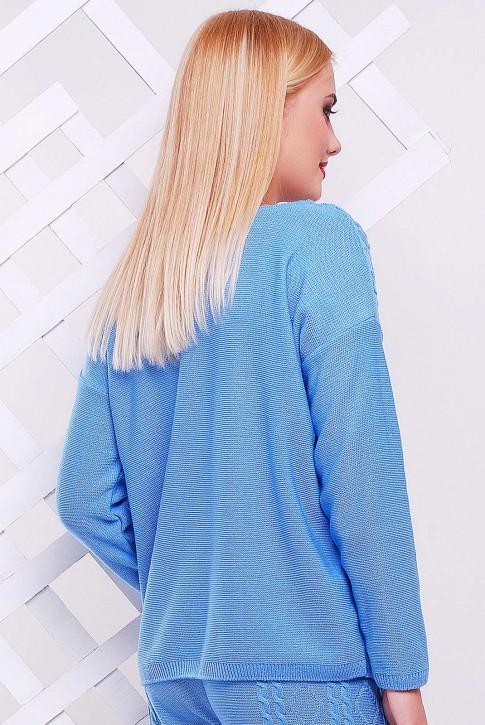 "Голубой свитер ""LILI"" SVV0001 (фото 2)"