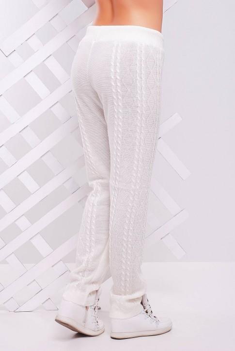 Белые вязаные штаны - SHV0004 (фото 2)
