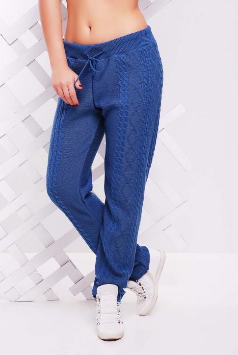 Штаны модного цвета джинс вязаные - SHV0008