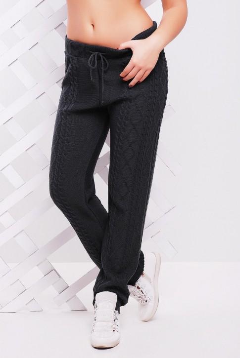 Стильные вязаные штаны для дома - SHV0009