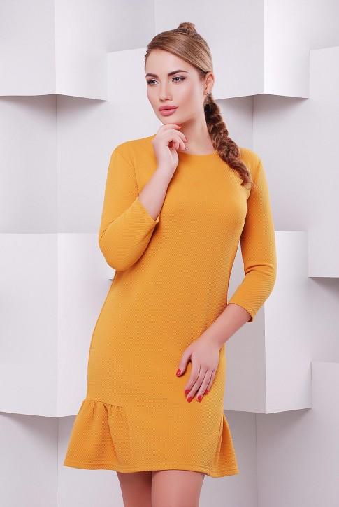 """Платье """"Рюша"""" PL-1395E"""
